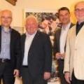v.r.n.l. Hans-Theo Horn (Vorsitzender) Hanns-Peter Windfeder (Stv. Vorsitzender) Hans-Dieter Flohr (Geschäftsführer) Heinz Koopmann-Horn (Schatzmeister)